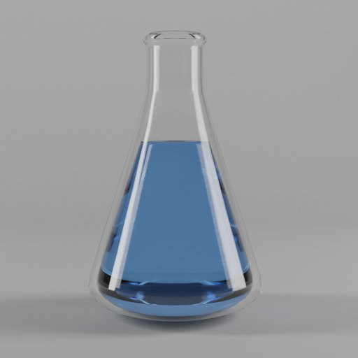 Thumbnail: Erlenmeyer flask with fluid