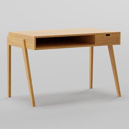Thumbnail: Zuo Linea Desk Walnut 117x66x76