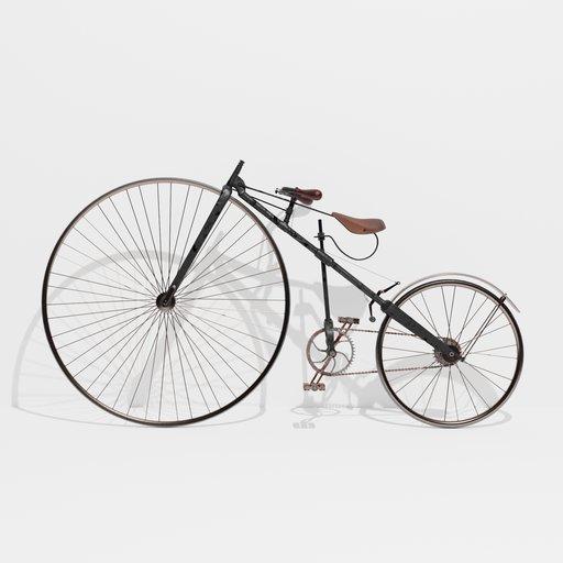 Thumbnail: Bicyclette   1879