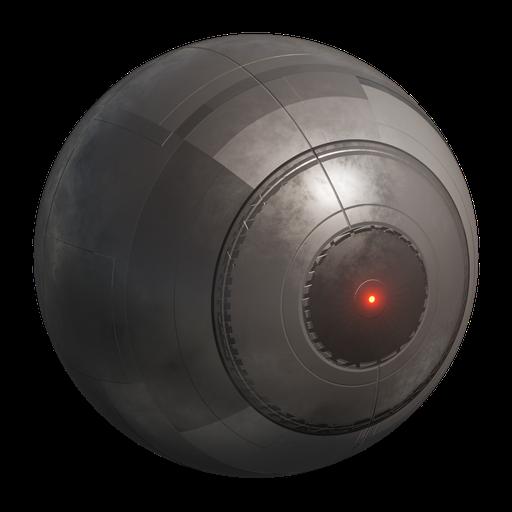 Thumbnail: Procedural Sci-fi Metal Drone