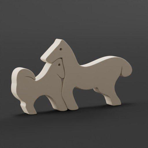 Thumbnail: Wooden toys(horse)