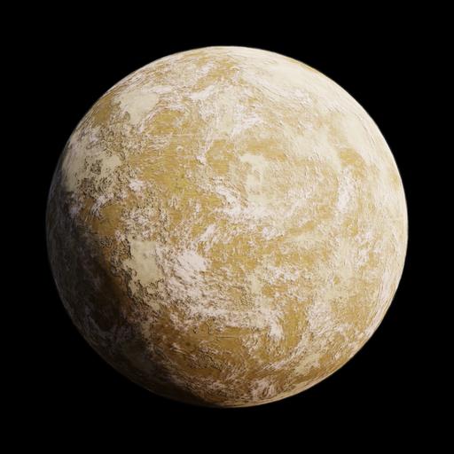 SciFi Sand Planet