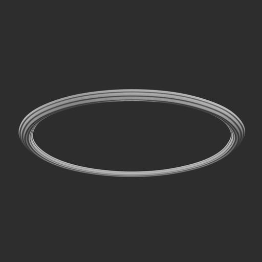 Thumbnail: Round Ceiling Cornice