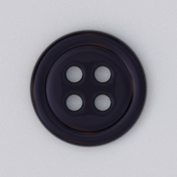 Thumbnail: button 4 holes black