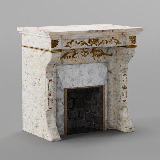 Thumbnail: Modern Fireplace 2
