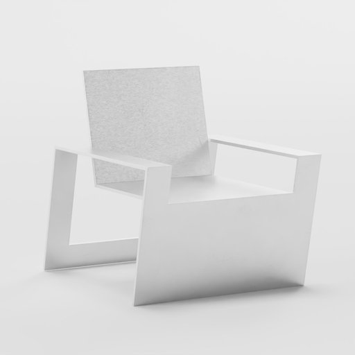 Thumbnail: Minimalistic metal chair