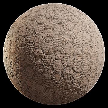 Thumbnail: Hexagon Brick Floor