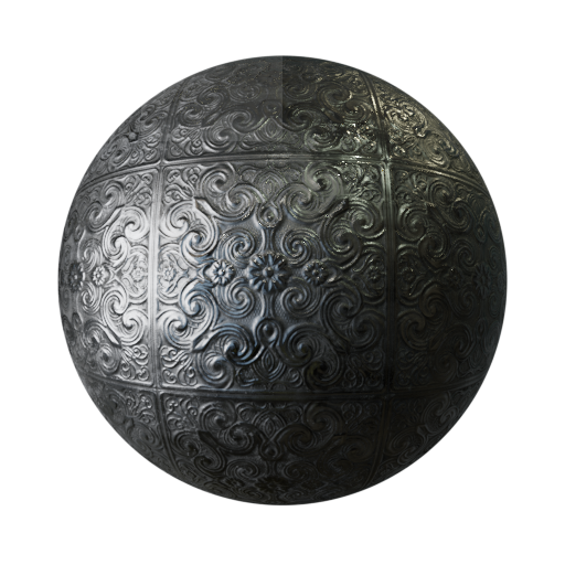 Thumbnail: Old silver ornament