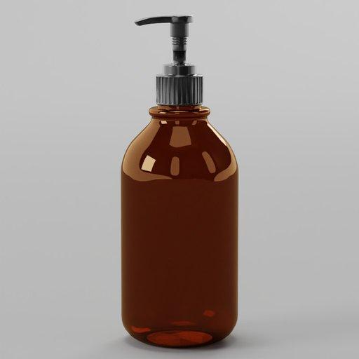 Thumbnail: Aesop Brown Plastic Soap Bottle