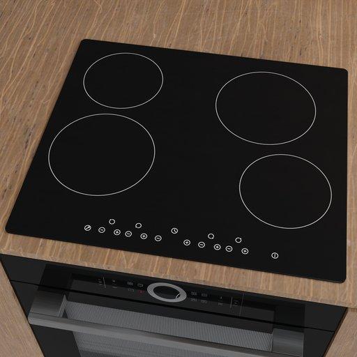 Thumbnail: Cookology Ceramic Hob CET600