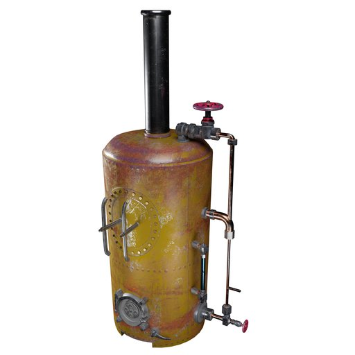 Thumbnail: Antique Gas Boiler