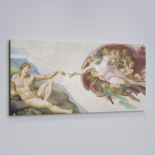 Thumbnail: The Creation of Adam Painting