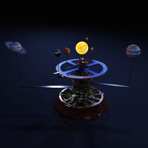 Thumbnail: Orrery Model