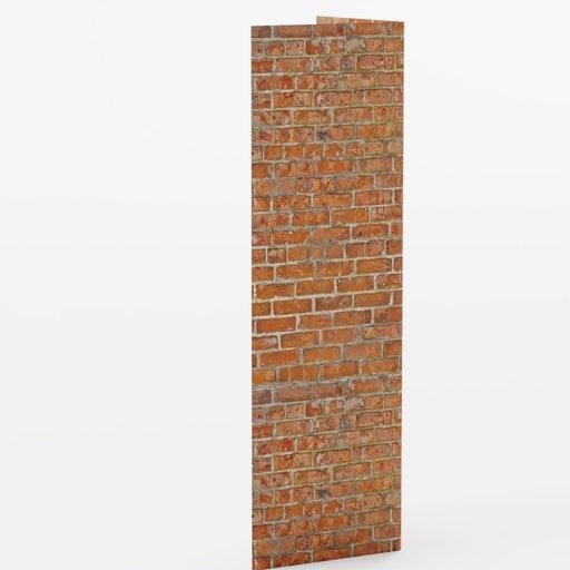Wall corner 1x1x3