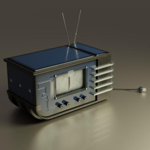 Thumbnail: Radio in a Retro style