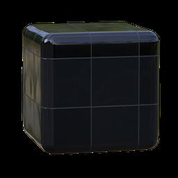 Thumbnail: black floor tiles