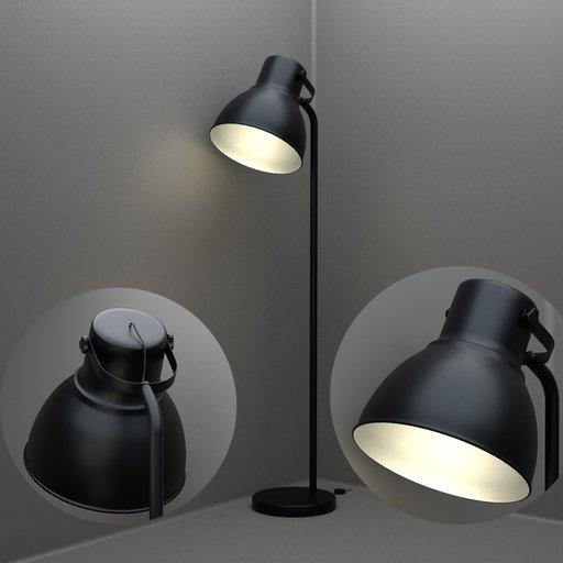 Thumbnail: Ikea Hectar Floor Lamp