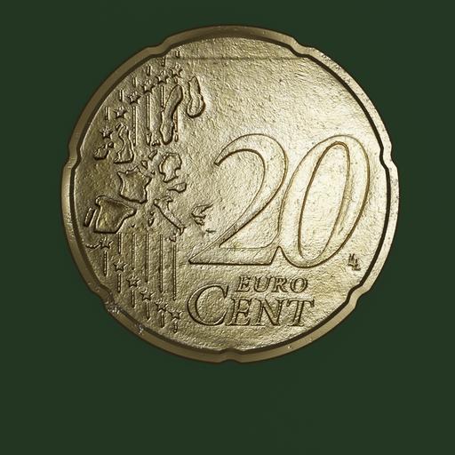 Thumbnail: Euro Coin, 20 cent