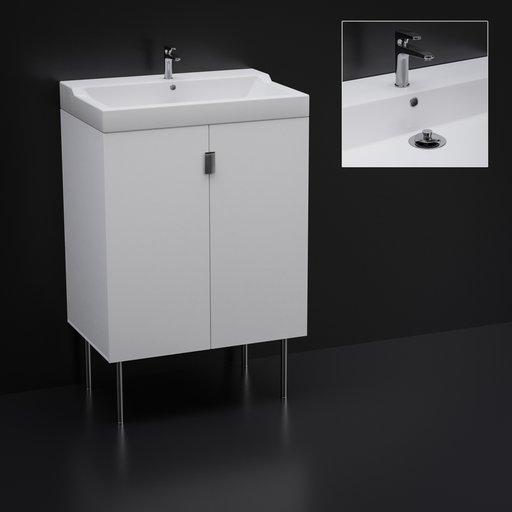 Thumbnail: Bathroom closet with sink