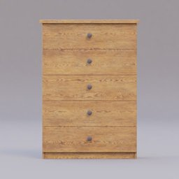 Thumbnail: small wooden cabinet with drawers