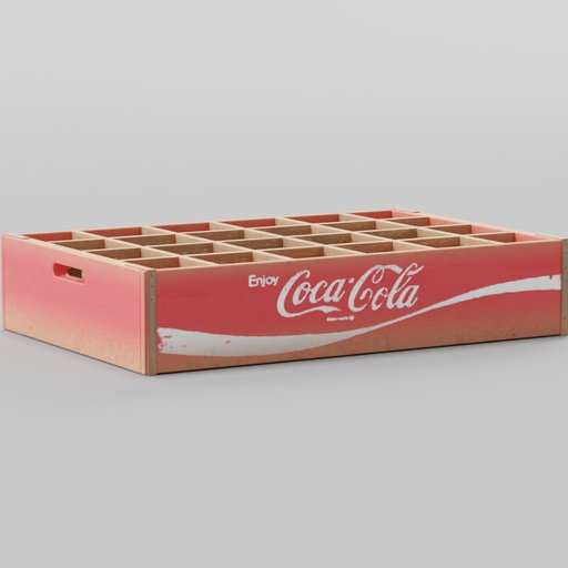 Old Coca Cola Wooden Bottle Crates