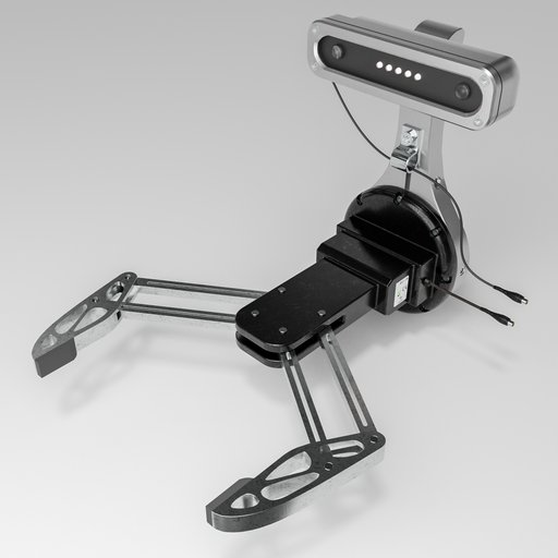 Thumbnail: Exotic robot gripper with on robot eyes