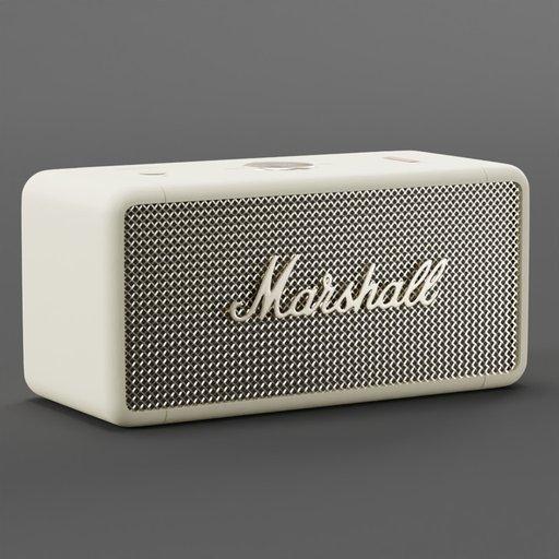 Marshall Emberton Portable Speaker Beige