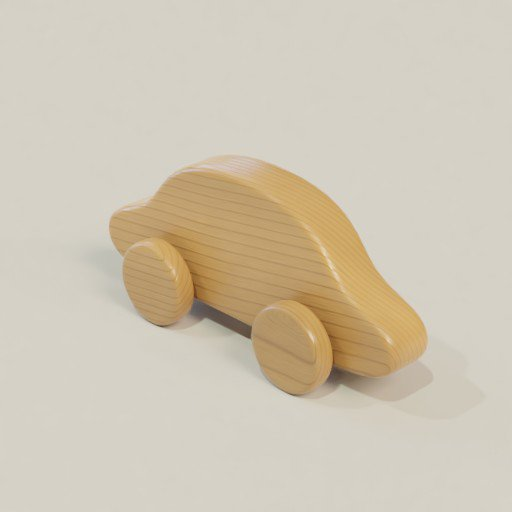 Thumbnail: Wooden toy car