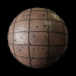 Thumbnail: Ground tiles brown dirty