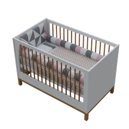 Thumbnail: Crib Mini Bed 2 in 1 + Crib Kit