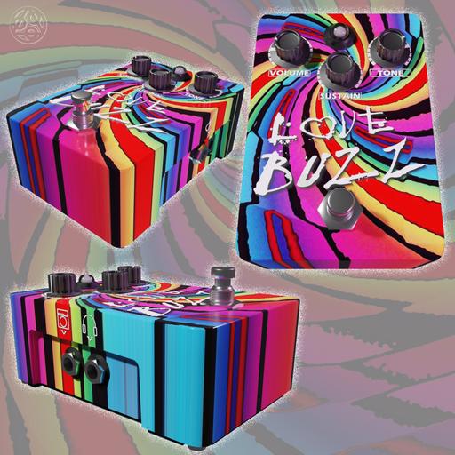 Thumbnail: Love Buzz Fuzz Pedal Guitar Effects by DJH