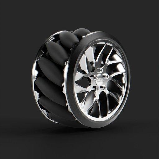 Thumbnail: Mecanum wheel v.3