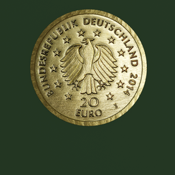 Thumbnail: Euro Coin, 20 Euro