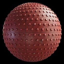 Thumbnail: Tactile Blocks Painted Concrete Dots