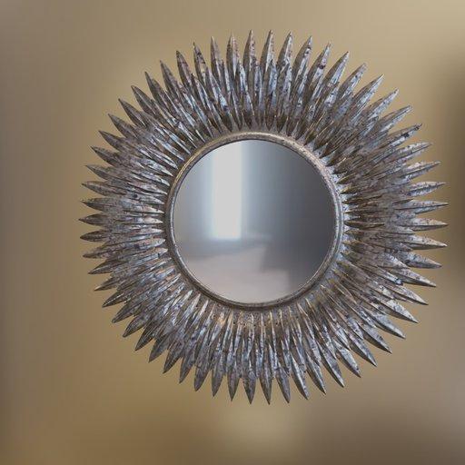 Thumbnail: Petal mirror tin