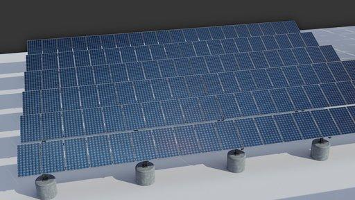 36kw Solar Panels Structure