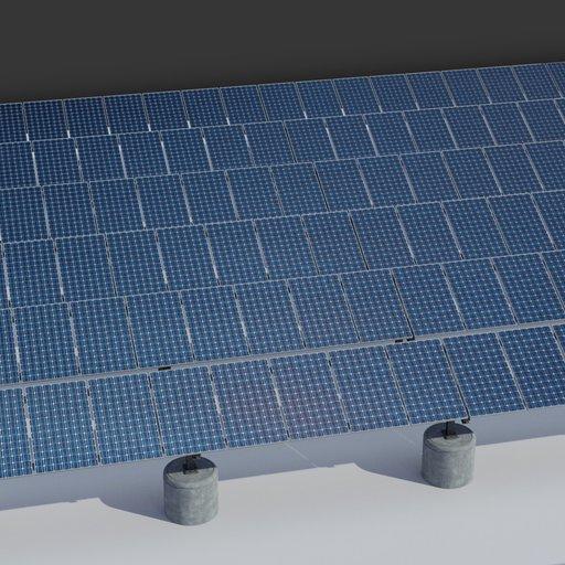 Thumbnail: 36kw Solar Panels Structure