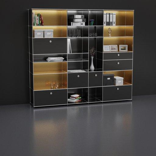 Thumbnail: Shelf with decoration set