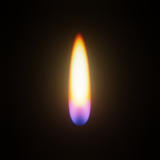 Thumbnail: 2d Animated Procedural Candle Flame