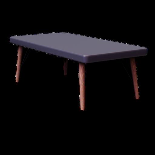 Thumbnail: CLEVELAND, Table basse en bois grise L 120 cm