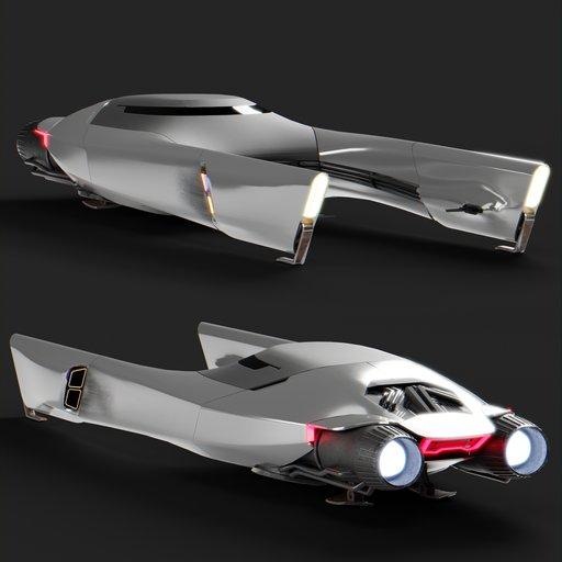 Thumbnail: Spaceship racer