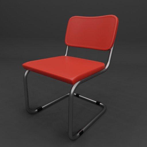 Thumbnail: Plastic Cesca Chair
