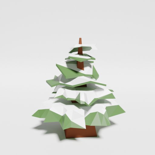 Thumbnail: Low Poly Pine Snowy