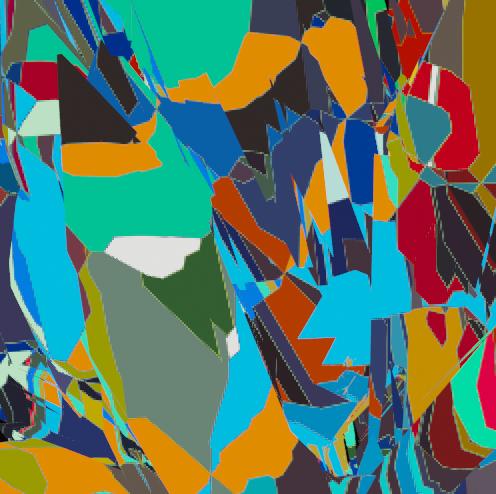 Thumbnail: Patchwork multi colour