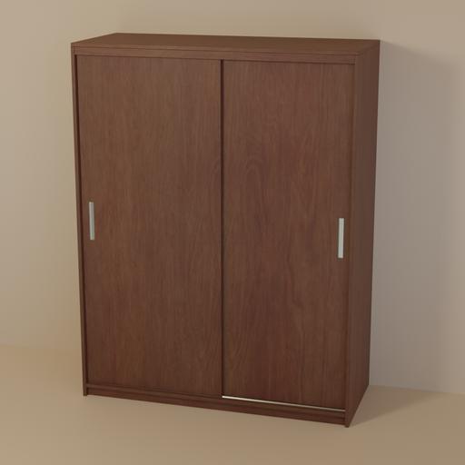 Thumbnail: Dark wood dresser