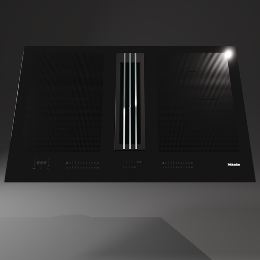 Thumbnail: Induction Cooktop With Hood