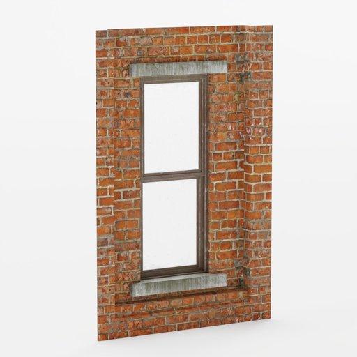Thumbnail: Wall window inset center bottom 2x3