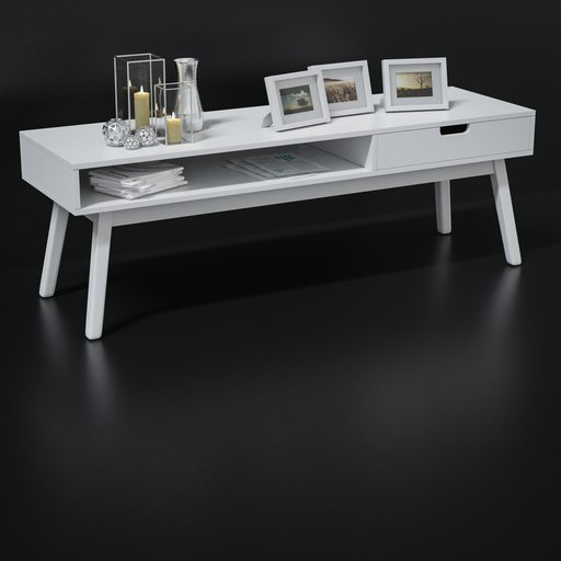 Thumbnail: Small shelf or console with decoration