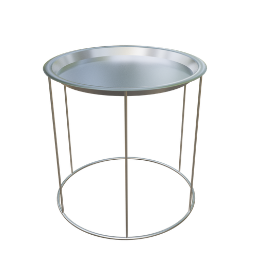 Thumbnail: Metal Side Table