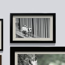 Thumbnail: Photo frame 'anyframe' with construction workers